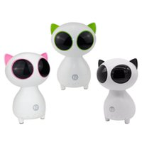 best usb computer speakers - Cartoon Cat Bluetooth Speaker Partner Speaker Best Gift for Girl friend for Kids support TF card Aux Hot Selling