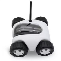 Wholesale WiFi RC Spy Car Remote Robot Tank Camera Car Support Smart Phone Remote Control Wireless Charging built in G TF Card