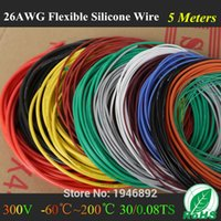 awg diameters - M FT AWG Flexible Silicone Wire RC Cable AWG TS Outer Diameter mm With Colors to Select