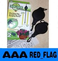 Wholesale 1set Easy Reach Plant Pulley with Label Plant Hanger Garden Hook pack LLY69