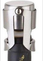 Wholesale New Arrive Champagne Sparkling Wine Bottle Stopper Sealer Plug Stainless Steel