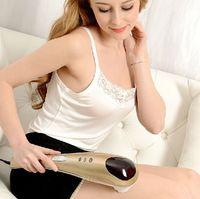 Wholesale Dolphin massage stick electric cervical vertebra massage device health beauty care multifunctional full body massage hammer