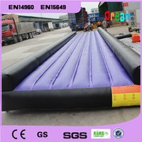 Wholesale m inflatable air mat inflatable air track tumbing inflatable trampoline for sale