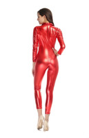 ballroom dancing painting - Paint Jumpsuit Neutral Skin Type The Ballroom Club Pole Dancing Tight Zipper Black Red Sexy Occupational Temptation