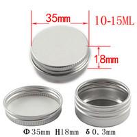 aluminum powder uses - New arrival mm Metal Box ml Aluminum Jar aluminum case for powders gels cream use