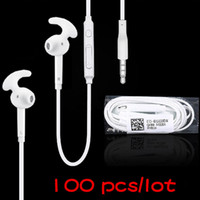 bass logos - For Samsung S7 In Ear Earphone EG920 Headphone mm with Logo Mic Bass Earbuds Sport Wired Headset for Galaxy S7 Note PC UP