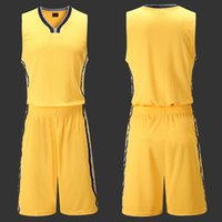 Wholesale 11set Mens Sport Trainning Shirt Set Basketball Jerseys Cheap Men s Basketball Shirts for Indiana Team Customized QP063