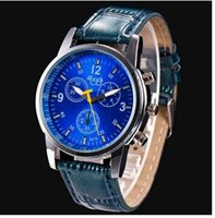 alloy shark - Male fashion belt ladies watches quartz watches fashion Brown Black Blue White leather material can be customized