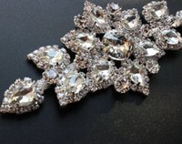 Wholesale Clothing Set Sale New Dress Applique Hi q Wedding Accessories1pcs cm Crystal Sew On Rhinestones Sewing Clothing