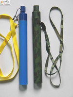 Wholesale 2016 New Portable Personal Water Purifier Straw Camouflage Blue Outdoor Survival Tool Great Quality E674E