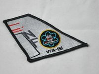 air navy fighters - US Navy Air Squadron strike fighter VFA vertical tail badge