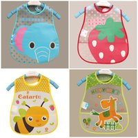 bibs for babies patterns - Baby Bibs EVA Waterproof Lunch Bibs Boys Girls Infants Cartoon Pattern Bibs Burp Cloths For Children Self Feeding Care