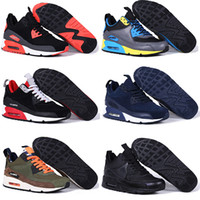 best online fabrics - 2016 Original Air BEST quality MAX High triple men winter Sneaker shoes For online hot sale Eur size