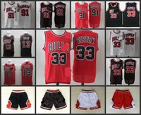 Wholesale A High Quality new arrival Chicago Dennis Rodman all star Scottie Pippen Joakim Noah jersey for mens
