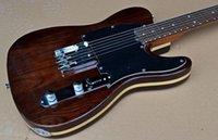 al por mayor cuerdas custom shop-Guitarra Custom Shop Limited George Harrison TL del Telecaster de raso natural eléctricas con cuerdas a través del cuerpo, Tradicional Deluxe F sintonizador Machine Head
