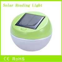 Wholesale 2016 Hot solar reading light cheap portable solar reading camping apple light from factory directly