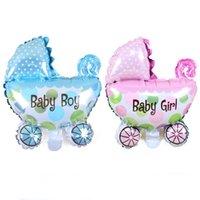 balloon car design - unique design quot baby boy quot quot baby girl quot baby car shape balloon blue pink color birthday party decoration