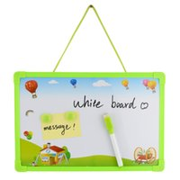 Wholesale Dry Erase Magnetic Whiteboard Message board Memo Pad Dialog Box Magnet Magnetic whiteboard Pen Magnets Board