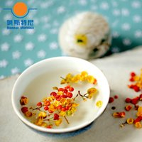 albizia julibrissin - organic China herb tea dried dried albizia flower tea Albizia julibrissin tea