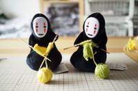 Wholesale Spirited Away Hayao Miyazaki No Face Man Kint A Sweater Plush Doll CM