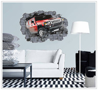 big country supply - 2016 Supply super big large D car wall sticker walls wallpaper rolls wall papers home bedroom decor CM