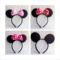 animal headwear - COSPLAY Headwear Mickey Minnie mouse ears Hairdband Hair accessories for Party Children and adults