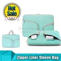 Wholesale Luxury Zipper Liner Sleeve Bag Cover Case For ALL Laptop quot quot inch inch inch Macbook Air Document handbag Accessory Pouch