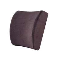 auto lumbar support cushion - Newest High Resilience Memory Foam Lumbar Back Support Cushion Relief Pillow for Office Home Car Auto Travel Booster Seat chair