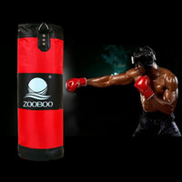 Wholesale Quality layer punching bag hanging BOXING BAG SET body fitness exercise MMA fight strength training punching sand bag empty