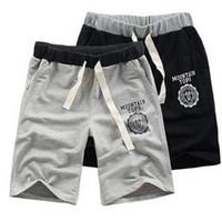 Precio de Los pantalones más el tamaño 24-Pantalones cortos de algodón de algodón para niños de tamaño ajustable Pantalones de gimnasio Pantalones deportivos de deporte Casual M L XL XXL