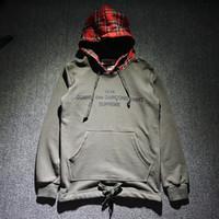 Wholesale hot New listing Cooperation Suprem Hoodie Fashion Fleece Sweatshirts Brand Hip Hop Sup X CDG s s drake yeezus drake Hoodie Hot Sale