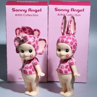 Wholesale Sonny Angel Kiss Mark Leopard PVC Action Figure Collectible Toy cm SET fast shipping