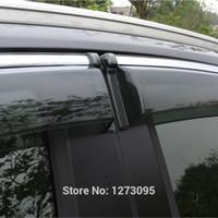 awning window styles - 2014 Toyota RAV4 Window Visor Vent Shades Sun Rain Deflector Guard Awnings Auto Styling Accessories set