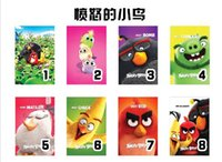 air china movies - Angry Birds The Angry Birds Movie Leather case Stand holder Smart cover For Apple Ipad air Mini Mini2 mini3