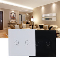 Wholesale Brand New High Quality Smart Capacitive Way Touch Control Wall Panel Light Switch LED Backlight Hot Selling