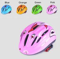 Wholesale 2016 brand new High Quality Children Cycling Helmet Protect Helmet for Kids rock climbing Ski Skate Skateboard Helmet Girls Boys