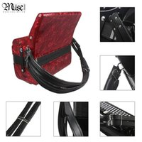 bass strap for accordion - One Pair Adjustable Synthetic Leather Accordion Shoulder Straps for Bass Accordions