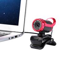 achat en gros de ordinateur portable-USB 2.0 50 mégapixels HD Caméra Web Cam 360 Degree avec MIC Clip-on for Desktop Skype Ordinateur PC portable C1947