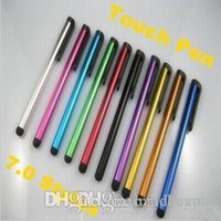 Wholesale by FedEx Stylus Pen for Apple iPhone iPad Touch Capacitive Screen Samsung Galaxy Touch Pen RJ1526 dd
