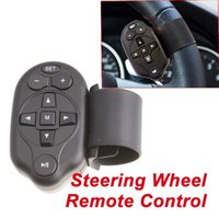 Wholesale Universal Steering Wheel IR Remote Control For Car DVD Player GPS TV CD Mp3 New