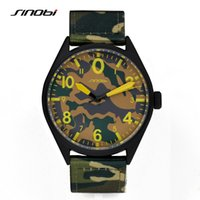 air sapphires - SINOBI Men s Military Watches for Luxury Brand Camouflage Nylon Watchband Males Air Force Army Waterproof Quartz Clock Relogios