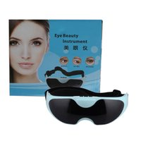 Wholesale Eye Massage Device Eye Massage Instrument Eye Protection Instrument Black Vibration Release Alleviate Fatigue Eye Massager