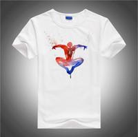 artwork t shirts - BGtomato Amazing Spider Man Artwork t shirt men originality cool fashion shirt Brand good quality comfortable cotton shirts