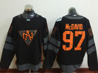 Cheap New Hockey Jerseys 2016 WCH #97 McDavid Jersey New Black Color Size 48-56 Stitched High Quality Cheap Price Mix Order All Jerseys