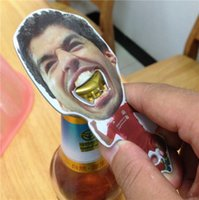 Wholesale New Arrive Hot Selling Luis Alberto Suarez Opener Beer Bottle Opener Zinc Alloy Low Price jy433