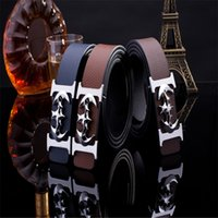 batman belts - Mens Designer Genuine Leather Belts Batman Waist Strap High Quality Belts Leisure Business Buckle Genuine leather belts