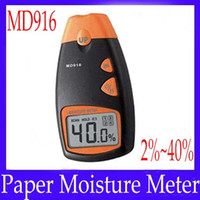 Wholesale Paper moisture meter MD916 range MOQ