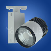 Wholesale factory sale LED COB W40W Track Light Spot Light Indoor Lighting Clothing Shoe Shop V Warm Natural Cold white