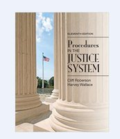 Wholesale hot new book procedures in the justice system eleventh edition ISBN