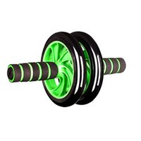 Wholesale High quality Abdominal Exercise Dual Wheel Roller Gym Tone Fitness Body Stomach Exercise Strength Training Roller